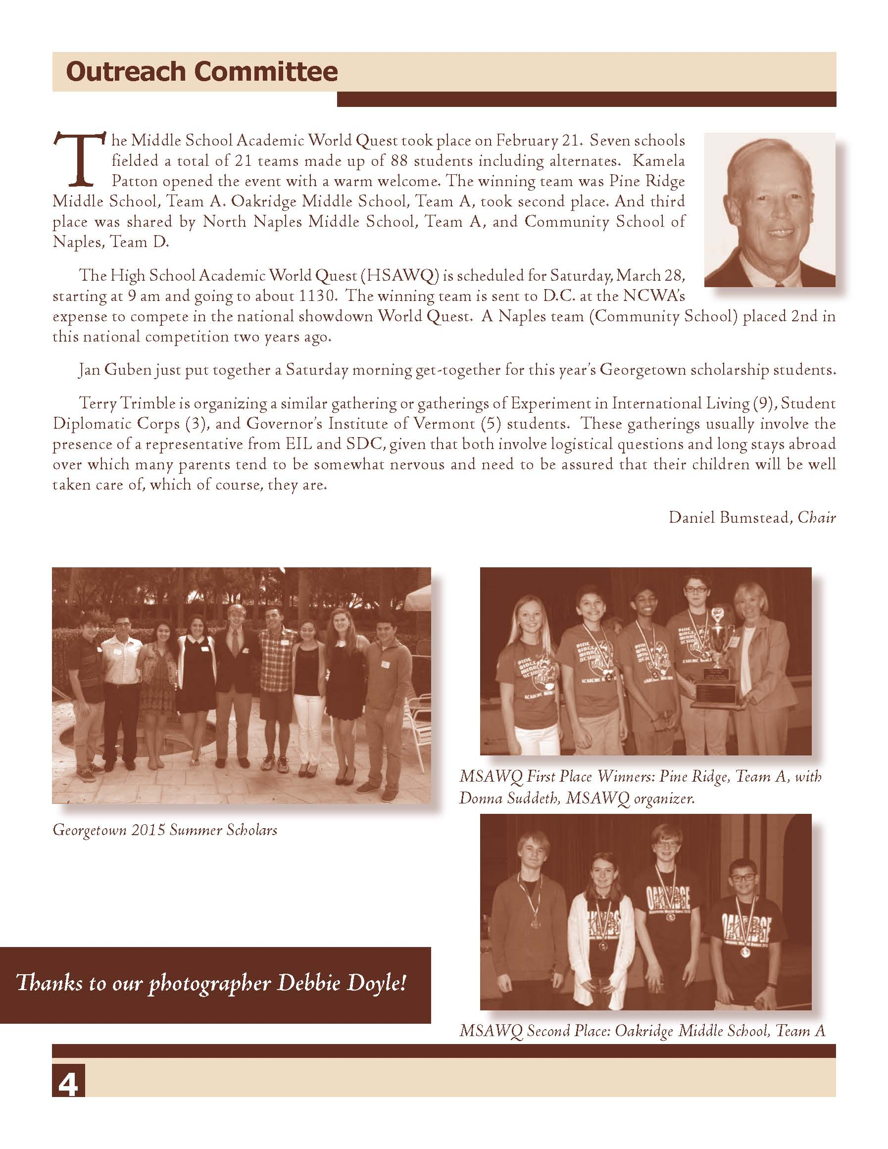 NCWA March 2015 Newsletter Page 4